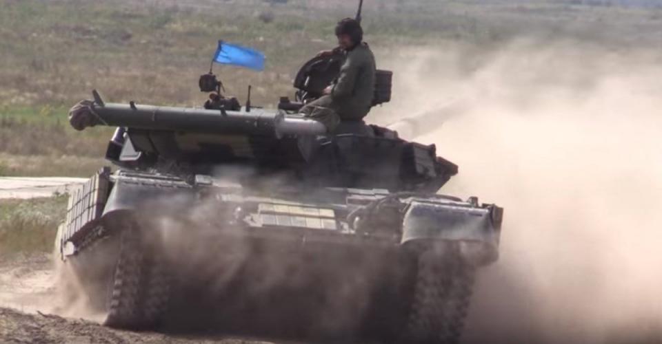 ВСУ на Черниговщине устроили учения — определяют лучший украинский танковый взвод