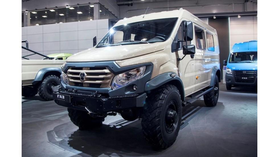 ГАЗ показал линейку экстремальных внедорожников