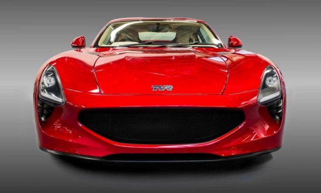 TVR показал свой новый спорткар