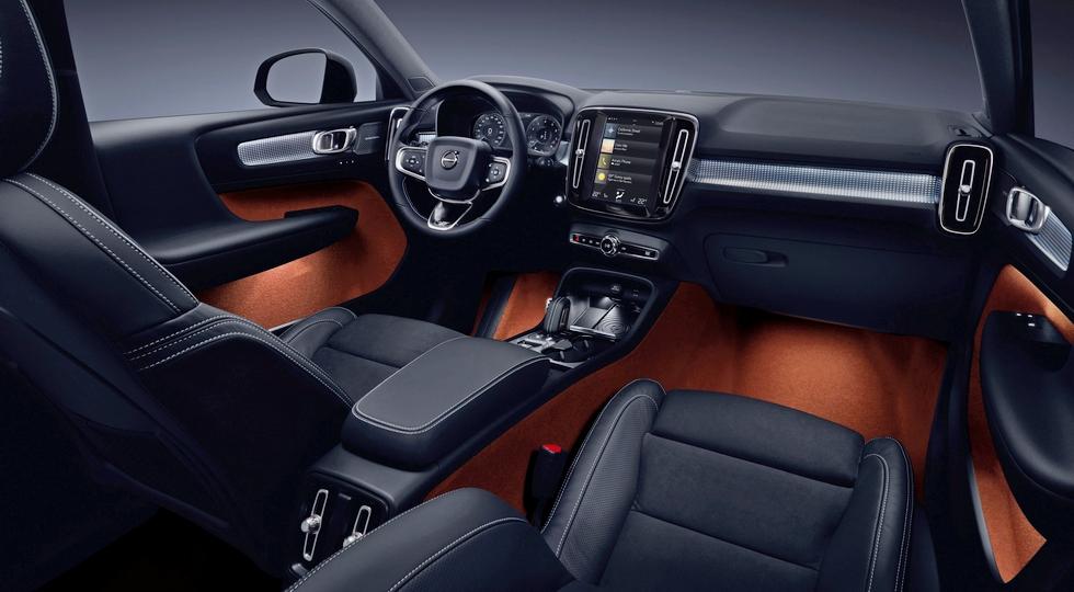 Кроссовер Volvo XC40 приедет в Россию в 2018 году