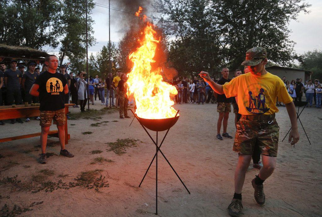 От Карпат до Харькова Украина покрылась сетью неонацистских лагерей