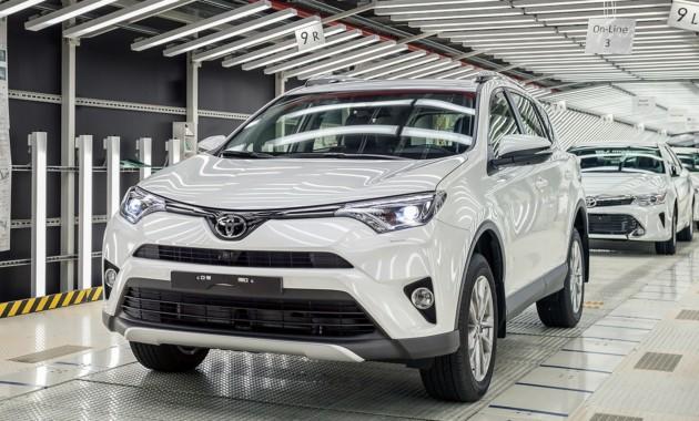 Петербургский завод Toyota существенно нарастил производство