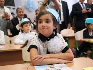 В Херсонской области открыли крымско-татарский класс, обьявив, что за ним — будущее