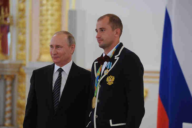 Олимпийский чемпион по пятиборью Александр Лесун: