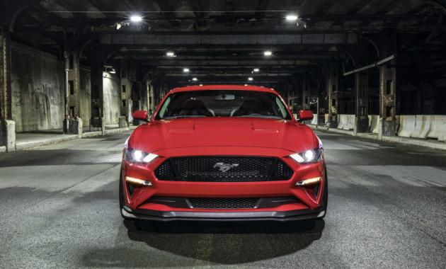 Ford Mustang GT получил комплексный заводской тюнинг