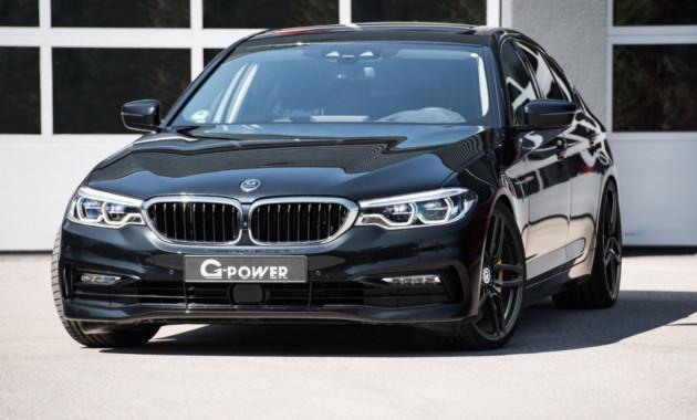 Новая «пятерка» BMW получила апгрейды двигателей