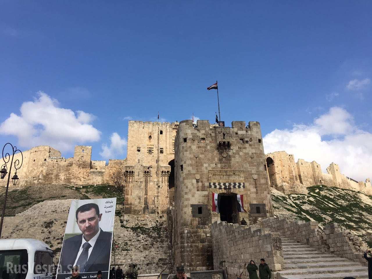 Россия — самая дорогая для сирийского сердца страна: В Алеппо болели за свою сборную и мечтали о поездке на ЧМ-2018 (ФОТО)