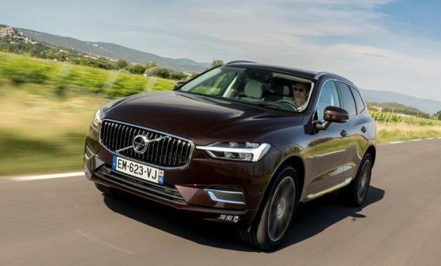 Volvo назвала рублевые цены нового XC60