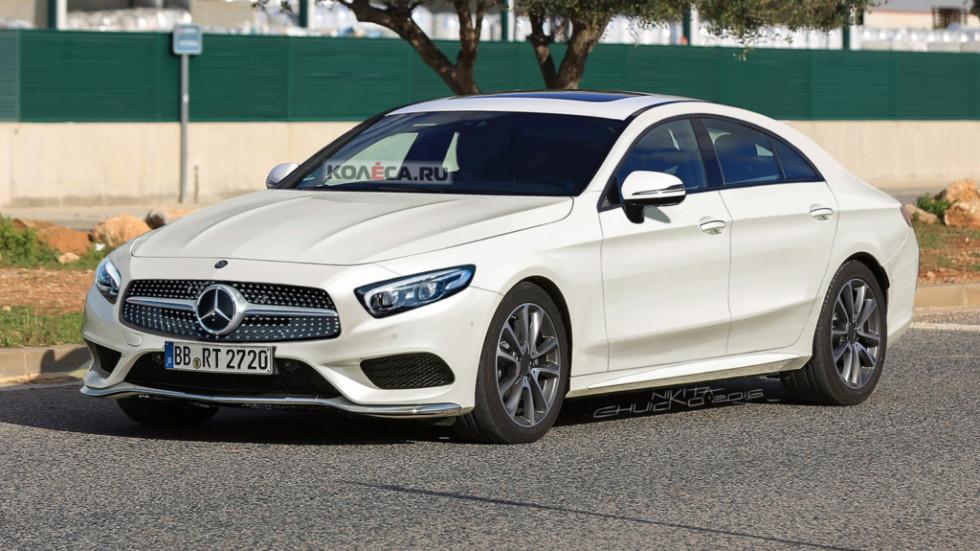 Mercedes-Benz показал тизер интерьера купе CLS 2019