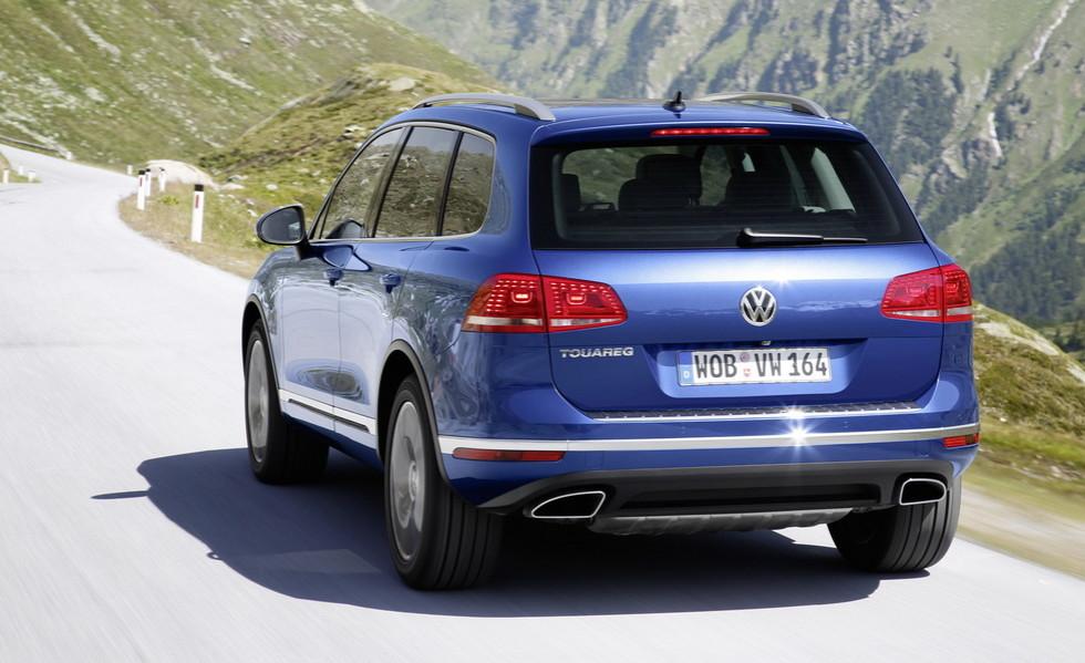 Volkswagen отзывает свыше 57 000 дизельных Touareg по всему миру
