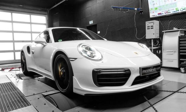 Porsche 911 Turbo S «прокачали» в mcchip-dkr