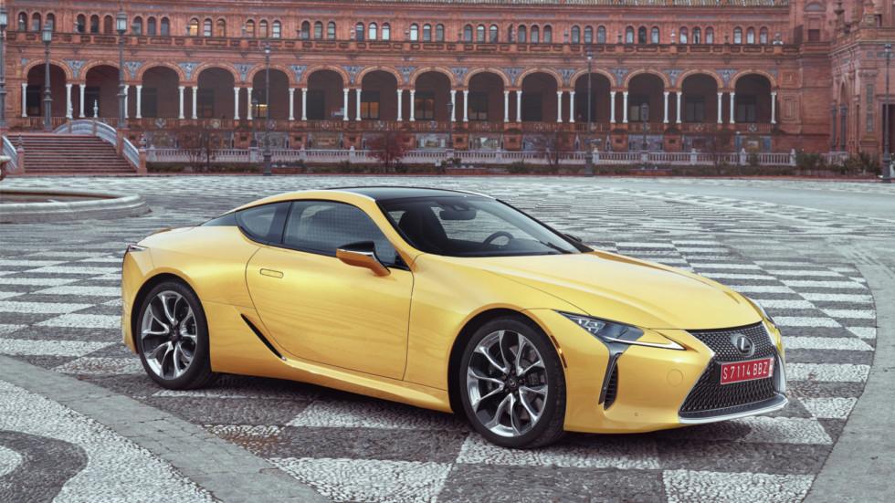 Lexus LC F: первые подробности