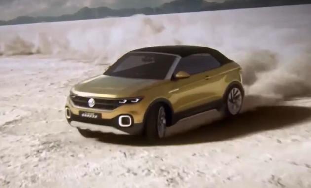 Volkswagen подтвердил выход T-Cross в 2018 году