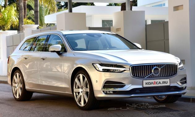 Новый Volvo V60