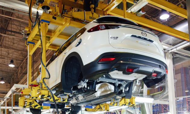Кроссовер Mazda CX-9 получил российскую прописку