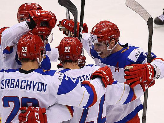 Россия – Дания: онлайн-трансляция четвертьфинала хоккейного МЧМ-2017