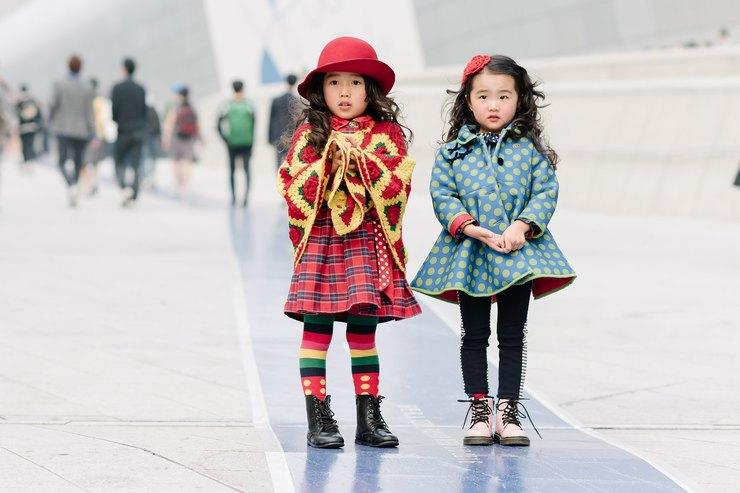 Мини-модники: как одеваются корейские дети