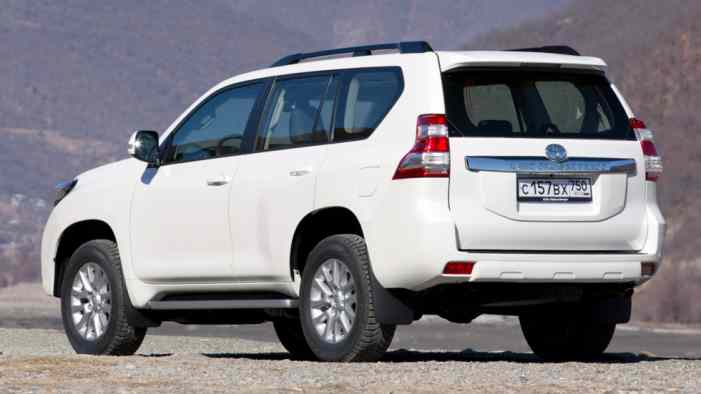 Дизельные Тoyota Land Cruiser Prado получили в РФ новую опцию