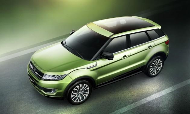 Китайский клон Land Rover Evoque обновился