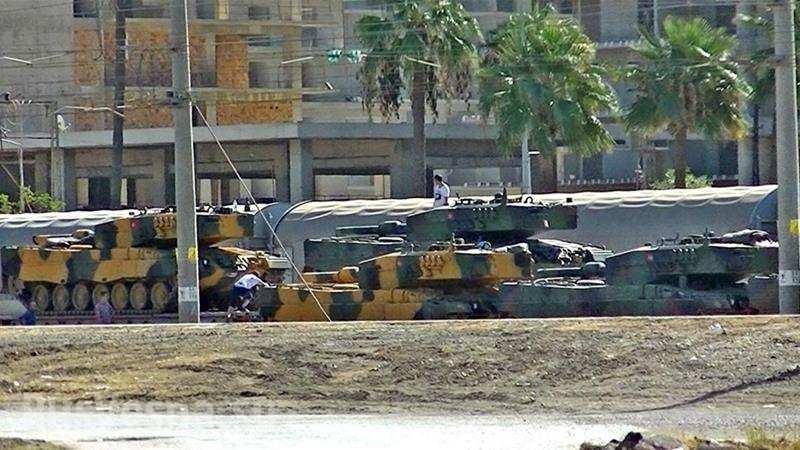 Бронетанковая армада Эрдогана готовится уничтожить силы проамериканской коалиции в Сирии (ФОТО)