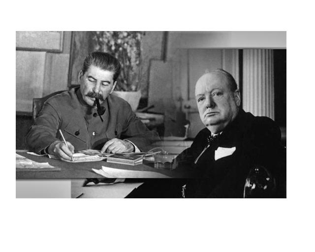 Черчель о Сталине