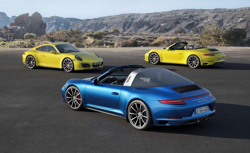 В Сети опубликовали фотографию нового Porsche 911 без камуфляжа